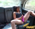 Pretend Taxi Ebony sizzling attractive babe Lola Marie assessments cabbies stamina