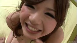 Sultry Japanese honey Suzanna's pretty pussy fingered