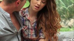 Barely legal pornstar Misha Cross gets her pussy licked & fucked balls deep