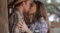 HD FantasyHD – Cowgirl Dani Daniels rides dick at the farm