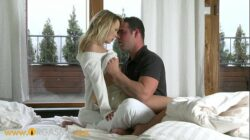 ORGASMS HD Sexy blonde coed intensely passionate for sex