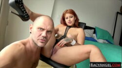 Passionate Sex Between Cute Foxy Haired Colombian Babe Ms Monroy and Big Spanish Stud Nacho Vidal